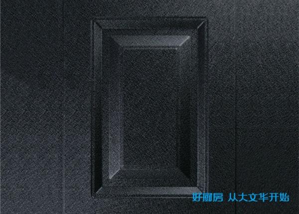 不锈钢烤漆门板-黑绵纹