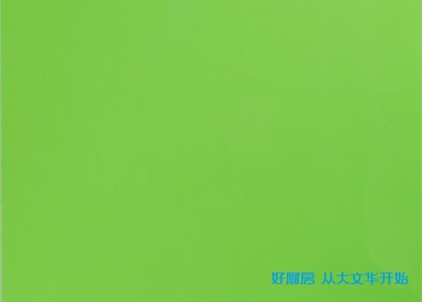不锈钢烤漆门板-苹果绿
