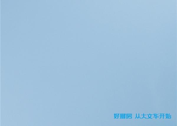 不锈钢烤漆门板-浅蓝