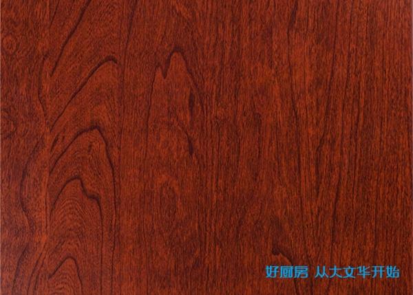 不锈钢覆膜门板-红花梨
