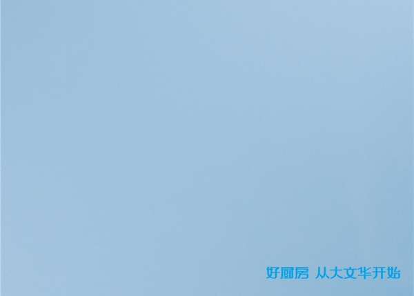 不锈钢覆膜门板-天蓝色