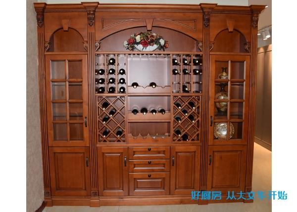 中式不锈钢酒柜